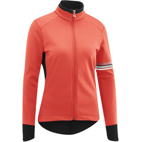 Gonso Draina Softshell Jacket Women, fiery coral
